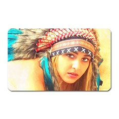 Indian 14 Magnet (rectangular) by indianwarrior