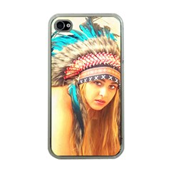 Indian 14 Apple Iphone 4 Case (clear) by indianwarrior