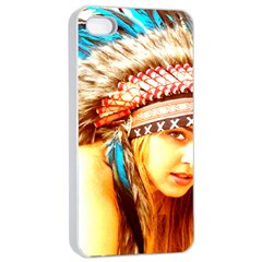 Indian 12 Apple Iphone 4/4s Seamless Case (white) by indianwarrior
