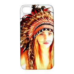 Indian 3 Apple Iphone 4/4s Hardshell Case With Stand by indianwarrior