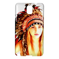 Indian 3 Samsung Galaxy Note 3 N9005 Hardshell Case by indianwarrior
