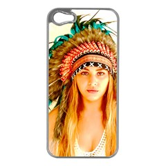 Indian 28 Apple Iphone 5 Case (silver) by indianwarrior