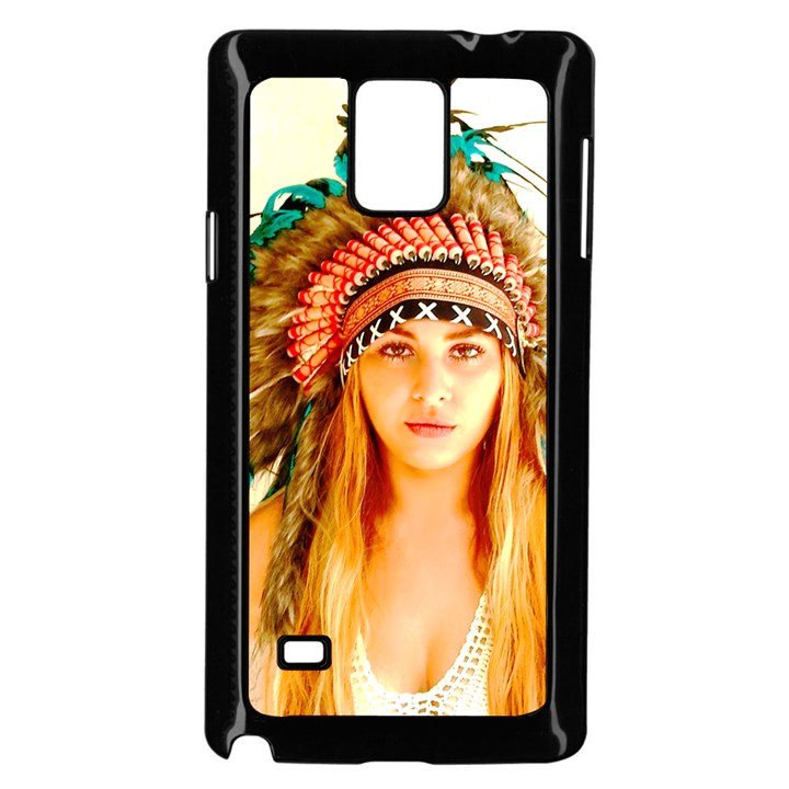 Indian 28 Samsung Galaxy Note 4 Case (Black)