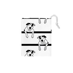 Pit Bull T Bone Graphic  Drawstring Pouches (xs)  by ButThePitBull