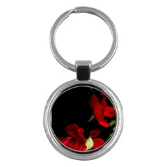 Roses 1 Key Chains (round)  by timelessartoncanvas