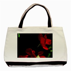 Roses 1 Basic Tote Bag (two Sides) by timelessartoncanvas