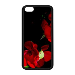 Roses 1 Apple Iphone 5c Seamless Case (black) by timelessartoncanvas