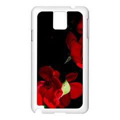 Roses 1 Samsung Galaxy Note 3 N9005 Case (white) by timelessartoncanvas