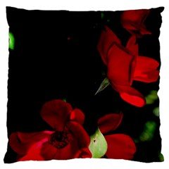 Roses 1 Standard Flano Cushion Case (two Sides) by timelessartoncanvas