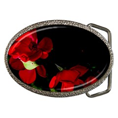Roses 2 Belt Buckles by timelessartoncanvas