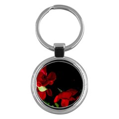 Roses 2 Key Chains (round)  by timelessartoncanvas