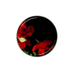 Roses 2 Hat Clip Ball Marker by timelessartoncanvas