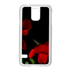 Roses 2 Samsung Galaxy S5 Case (white) by timelessartoncanvas