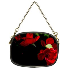 Roses 3 Chain Purses (one Side)  by timelessartoncanvas