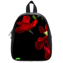 Roses 3 School Bags (small)  by timelessartoncanvas