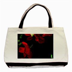 Roses 4 Basic Tote Bag (two Sides) by timelessartoncanvas