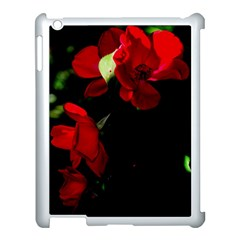 Roses 4 Apple Ipad 3/4 Case (white) by timelessartoncanvas