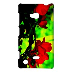 Red Roses And Bright Green 1 Nokia Lumia 720 by timelessartoncanvas