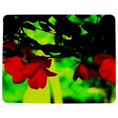 Red Roses And Bright Green 2 Jigsaw Puzzle Photo Stand (rectangular) by timelessartoncanvas