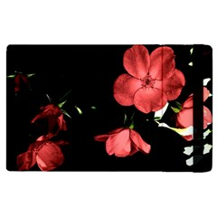 Mauve Roses 1 Apple Ipad 3/4 Flip Case by timelessartoncanvas
