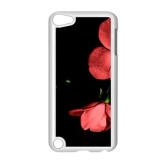 Mauve Roses 1 Apple Ipod Touch 5 Case (white) by timelessartoncanvas