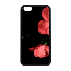 Mauve Roses 1 Apple Iphone 5c Seamless Case (black) by timelessartoncanvas