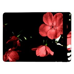 Mauve Roses 1 Samsung Galaxy Tab Pro 12 2  Flip Case by timelessartoncanvas
