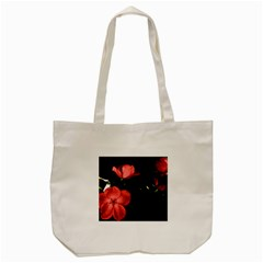 Mauve Roses 2 Tote Bag (cream) by timelessartoncanvas