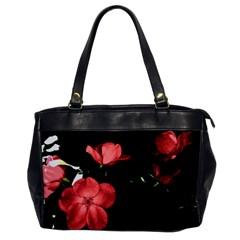 Mauve Roses 2 Office Handbags by timelessartoncanvas