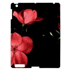 Mauve Roses 2 Apple Ipad 3/4 Hardshell Case by timelessartoncanvas