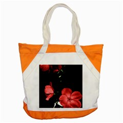 Mauve Roses 3 Accent Tote Bag by timelessartoncanvas