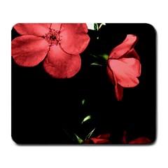 Mauve Roses 4 Large Mousepads by timelessartoncanvas