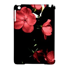 Mauve Roses 4 Apple Ipad Mini Hardshell Case (compatible With Smart Cover) by timelessartoncanvas