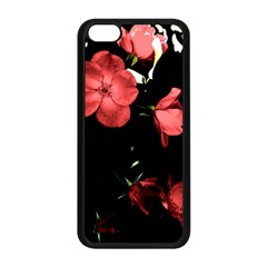 Mauve Roses 4 Apple Iphone 5c Seamless Case (black) by timelessartoncanvas