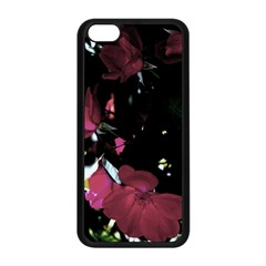 Mauve Pink Roses Apple Iphone 5c Seamless Case (black) by timelessartoncanvas