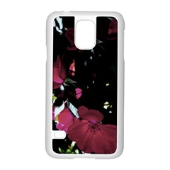 Mauve Pink Roses Samsung Galaxy S5 Case (white) by timelessartoncanvas