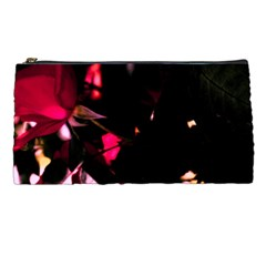 Pink Roses Pencil Cases by timelessartoncanvas