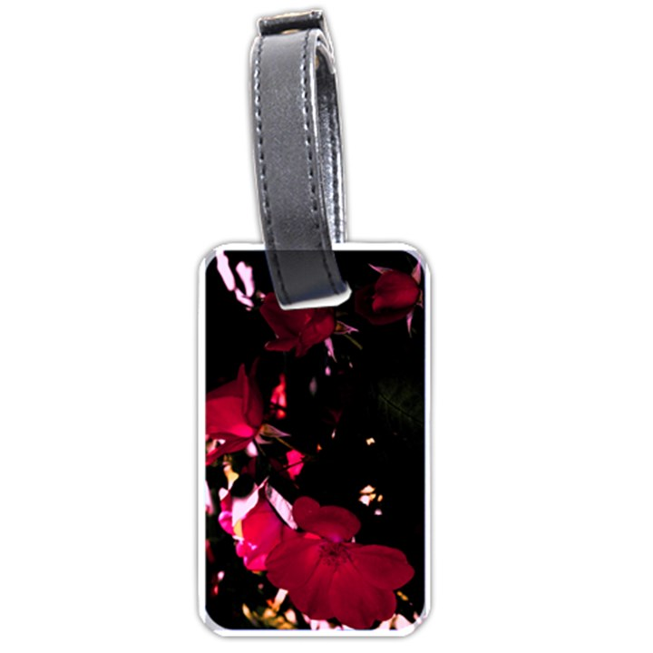 Pink Roses Luggage Tags (One Side)