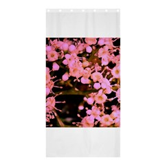 Little Mauve Flowers Shower Curtain 36  X 72  (stall)  by timelessartoncanvas