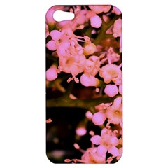 Little Mauve Flowers Apple Iphone 5 Hardshell Case by timelessartoncanvas