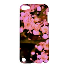 Little Mauve Flowers Apple Ipod Touch 5 Hardshell Case by timelessartoncanvas