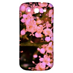 Little Mauve Flowers Samsung Galaxy S3 S Iii Classic Hardshell Back Case by timelessartoncanvas
