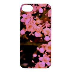 Little Mauve Flowers Apple Iphone 5s/ Se Hardshell Case by timelessartoncanvas