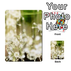 Little White Flowers Multi Purpose Cards (rectangle)