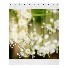 Little White Flowers Shower Curtain 60  X 72  (medium)  by timelessartoncanvas