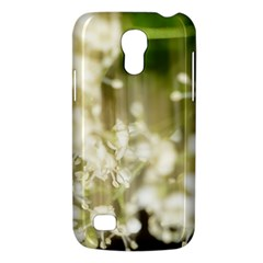 Little White Flowers Galaxy S4 Mini by timelessartoncanvas