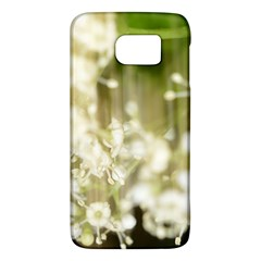 Little White Flowers Galaxy S6 by timelessartoncanvas