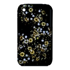 Little White Flowers 2 Apple Iphone 3g/3gs Hardshell Case (pc+silicone) by timelessartoncanvas