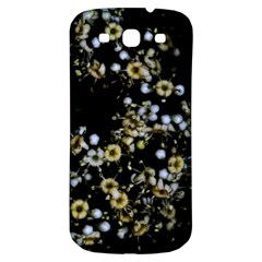 Little White Flowers 2 Samsung Galaxy S3 S Iii Classic Hardshell Back Case by timelessartoncanvas