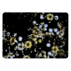 Little White Flowers 2 Samsung Galaxy Tab 8 9  P7300 Flip Case by timelessartoncanvas